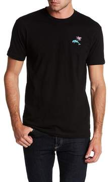 Riot Society Embroidered Blue Dolphin Tee