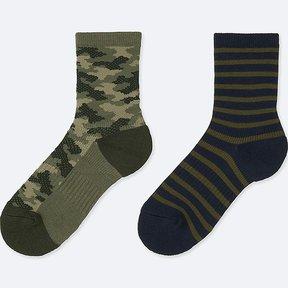 Uniqlo Boy's Regular Socks (2 Pairs)