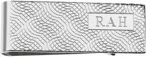 Asstd National Brand Personalized Snakeskin Pattern Money Clip Wallet