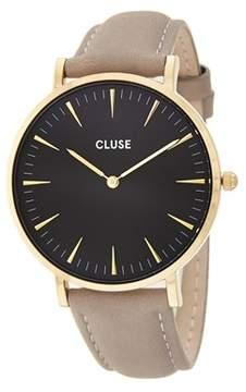 Cluse Women's La Boheme Leather Watch.
