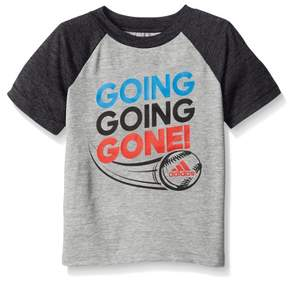 adidas Boys Going Going Gone! Baseball Climalite Athletic Shirt 4