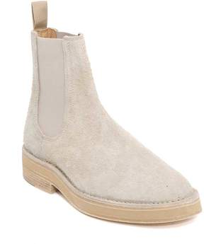 Yeezy Shaggy Suede Boots