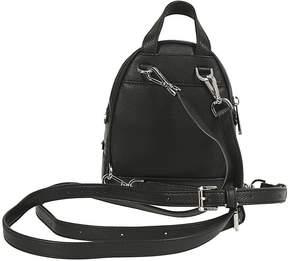 Michael Kors Rhea Backpack - NERO/ARGENTO - STYLE