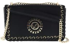 Versace EE1VRBBI4 Black Shoulder Bag W/ chain strap