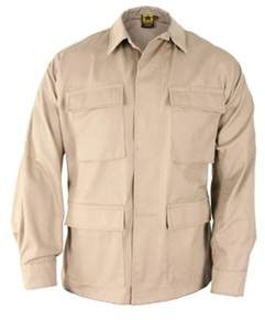 Propper Men's Bdu 4-pocket Coat 65p/35c Long.