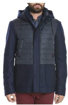 Rossignol Men's Blue Wool Down Jacket.