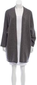 eskandar Wool-Blend Open-Front Cardigan