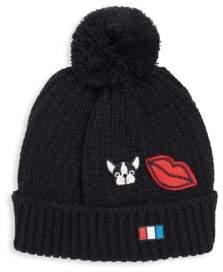 San Diego Hat Company Patchwork Knit Beanie