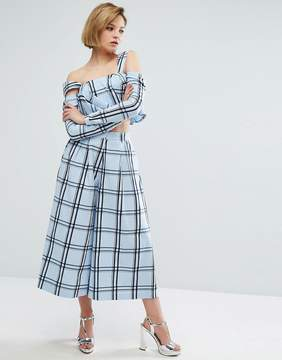 House of Holland Check Culottes