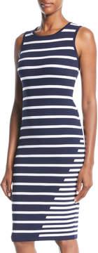 John & Jenn Gis Striped Bodycon Dress