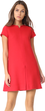 Courreges Short Sleeve Mini Dress
