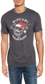 Rip Curl Men's Santa Pineapple Graphic T-Shirt