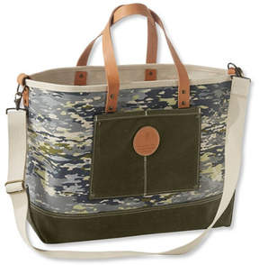 L.L. Bean Utility Boat and Tote, Print