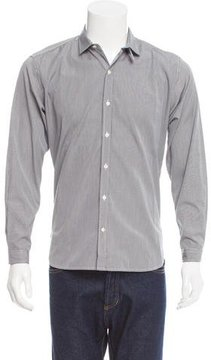 Oliver Spencer Striped Button-Up Shirt