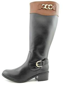 Karen Scott Womens Darlaa Round Toe Mid-calf Riding Boots.