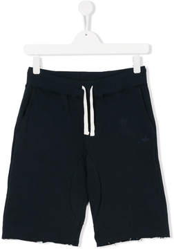 Macchia J Kids TEEN star print track shorts
