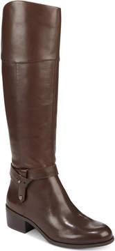 Alfani Women's Berniee Step 'N Flex Riding Boots, Created for Macy's Women's Shoes