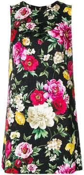 Dolce & Gabbana sleeveless shift mini-dress