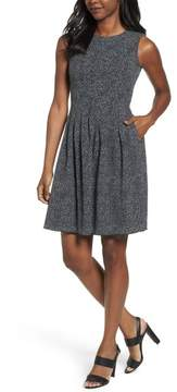 Anne Klein Women's Sleeveless Fit-And-Flare Dress