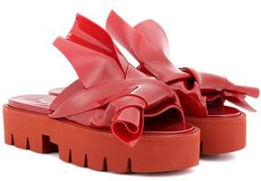 N°21 X Kartell Knot platform sandals