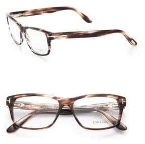 Tom Ford 56MM Square Acetate Optical Glasses