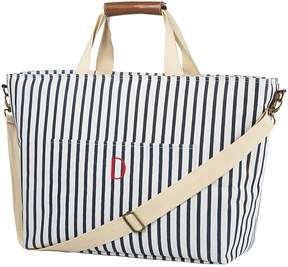 Cathy's Concepts Cathys Concepts Monogram Striped Cooler Tote