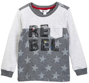 Petit Lem Long Sleeve Knit Shirt (Toddler & Little Boys)