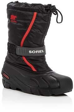 Sorel Boys' Flurry Waterproof Boots - Toddler, Little Kid, Big Kid