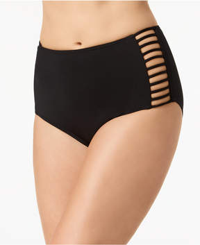 CoCo Reef Strappy High-Waist Bikini Bottoms Women's Swimsuit