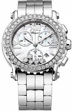 Chopard Happy Sport Mother of Pearl Chronograph Dial Men's Watch 288506-2005