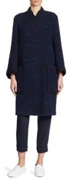 Armani Collezioni Wool & Alpaca Coat