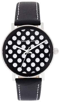 Christian Lacroix Women's Pois Quartz Watch, 36mm
