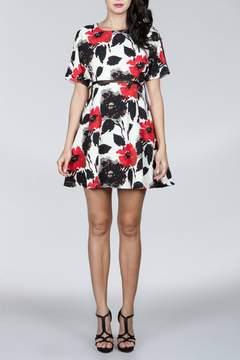 Ark & Co Floral Cutout Dress