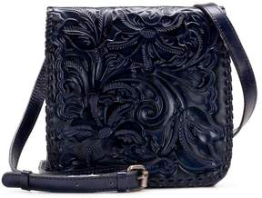 Patricia Nash Burnished Tooled Collection Granada Cross-Body Bag