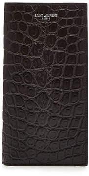 Saint Laurent Embossed Leather Wallet