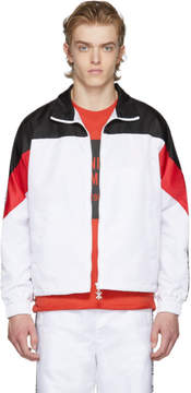 Opening Ceremony White and Black Limited Edition Warm Up Jacket
