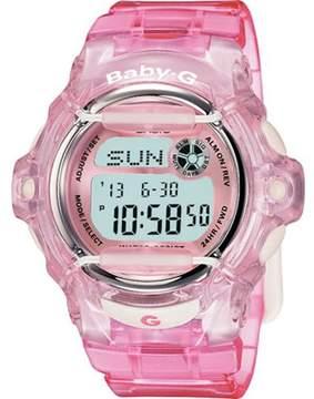 Casio Women's Baby-G BG169R-4 Pink Resin Quartz Fashion Watch