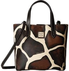 Dooney & Bourke Serengeti Mini Waverly Handbags - GIRAFFE/BLACK TRIM - STYLE