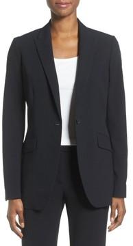 Anne Klein Women's Long Boyfriend Suit Jacket