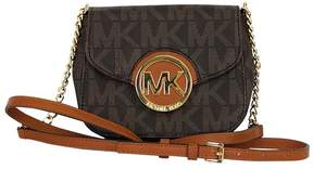 Michael Kors Michael Fulton Brown Small Crossbody - BROWN - STYLE