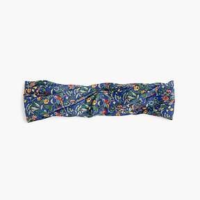 J.Crew Soft twist headband in Liberty® Catesby floral
