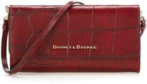 Dooney & Bourke Denison Collection Cross-Body Clutch - BORDEAUX - STYLE