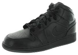 Jordan Nike Kids Air 1 Mid Bg Basketball Shoe.