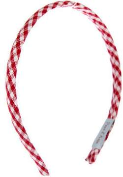 Papo d'Anjo Girls' Gingham Print Headband