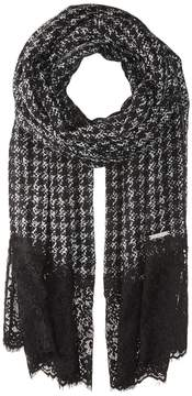MICHAEL Michael Kors Paisley Houndstooth Oblong Scarves