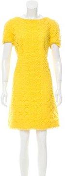 Andrew Gn Crocheted Shift Dress