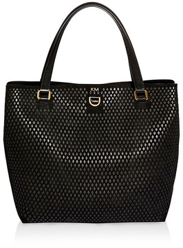 KAREN MILLEN Diamond Detail Tote