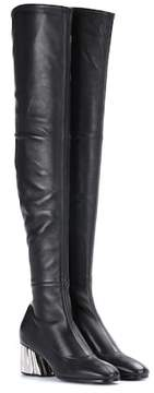 Proenza Schouler Over-the-knee leather boots