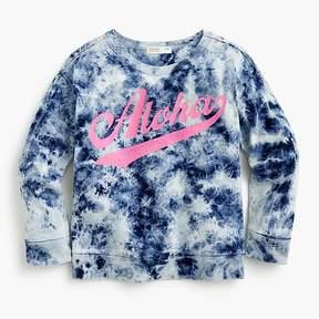 J.Crew Girls' tie-dyed Aloha sweatshirt