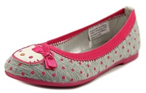 Hello Kitty Darling Round Toe Canvas Flats.